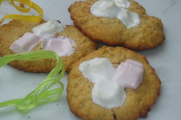 Cookies aux flocons d'avoine et chamallows